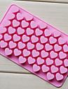 dragoste inima tavă formă de ciocolată, silicon 55 gauri (randoms culoare) cm-87