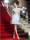 A-line mare gât scurt / mini șifon tul rochie de balet de ts couture®