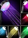 Debit d\'eau pouissance Generation Couleur Changement progressif douche a main LED