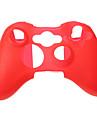 Capac silicon piele caz pentru Xbox 360 Controller de joc (culori asortate)