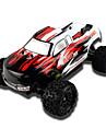 RC Car ERC1811 Buggy (Off-road) / Truggy / Monster Truck Bigfoot 1:18 Motor electric cu Perii KM / H 4WD / Telecomandă / Reîncărcabil