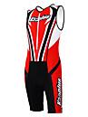 Kooplus Tenue de Triathlon Homme Femme Unisexe Sans Manches Vélo combinaisons Ensemble de Vêtements Séchage rapide Perméabilité à