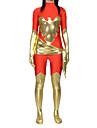Zentai Dräkter Ninja Zentai Cosplay-kostymer Tryck Trikå / Onesie Zentai Spandex Lycra Herr Dam Halloween Karnival