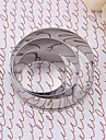 Stainless Steel Circle Cake Bakning Cookie Mold Set med 3 st