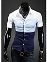HF bărbați bază maneci scurte cămașă 9072