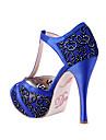 """""""I DO"""" de cristal acrilice autocolant pantofi (Mai multe culori)"""