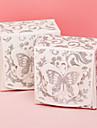 În Formă de Cub Hârtie cărți de masă Favor Holder Cu Cutii de Savoare