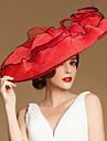 Fashional Len Ženy Svatba / Loučení / Svatební klobouk s květinami (více barev)