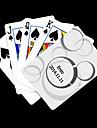 Personlig Gift Vit pricker mönstrar leker kortet för poker