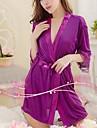 Pentru femei Lenjerie intima pentru femei Ice Femeie de uz casnic pentru a lua Sexy Silk Robe Spa Tunica Suit