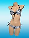 Dame Spandex Cu Bretele Cu Susținere,Bikini Animal Ridicare Imprimeu Animale