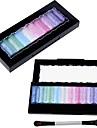 Ny 10 färger Baked Eyeshadow Glitter Pro Makeup Cosmetics Palette Pigment Set 4381