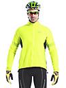 Mysenlan Herre Cykeljakke Cykel Jakke Toppe Vandtæt Vindtæt Hurtigtørrende Sport Polyester Bjerg Cykling Vej Cykling Tøj Cykeltøj
