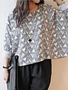 Pentru femei scurt Talie Bat Sleeve T-shirt