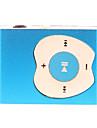 Apple Button Design Clip MP3 spelare med TF kortläsare (Blå)