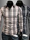 Pentru bărbați Fashion Plaid Shirt