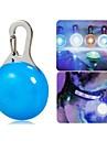 Pisici / Câini Gulere / Becuri LED Impermeabil / Lumini LED Alb / Albastru Plastic