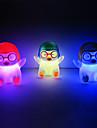 Penguin Rotocast Color föränderliga Night Light (Random färg)