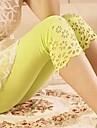 Pantaloni de maternitate Subiect Hollow flori Side abdominale Capri