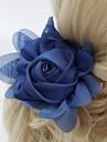Chiffon / Krystall / Stoff Tiaras / Blumen mit 1 Hochzeit / Besondere Anlaesse / Party / Abend Kopfschmuck