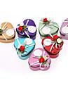Creative Fier (placat cu nichel) Favor Holder Cu Flori Panglici Cutii de Savoare Cutii și Sticle de Savoare