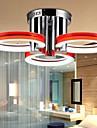 Montaj Flush Lumini Ambientale - LED, Modern / Contemporan, 90-240V, Alb, Bec Inclus