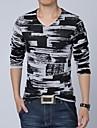 Casual mâneci lungi T-shirt pentru bărbați
