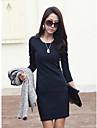 xiaonvren bodycon dress_x40 (bleumarin)