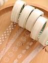 dantelă transparentă banda decorativa (tipar aleatoriu 1 buc)