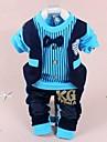 Fecioresc Primăvara/Toamna Micro-elastic Mediu Mânecă Lungă Seturi de îmbrăcăminte ( Bumbac )