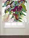 fluture stil abstract cu umbra role flori