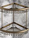 Etagere de Salle de Bain / Laiton Antique Antique