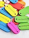 eliptice de cusut manual scraft album butoane de bricolaj din lemn (10 buc culoare aleatorii)