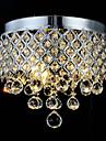 QINGMING® Montage du flux Lumiere dirigee vers le bas - Cristal, 110-120V / 220-240V Ampoule non incluse / 10-15㎡ / E12 / E14