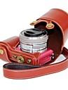 pajiatu® PU aparat foto din piele caz de protecție pentru Sony alfa-a5000 İlçe 5000 a5100 İlçe-5100 nex-3n