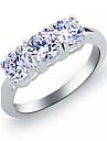 aska kvinnors alla match diamant ädelsten ring klassisk feminin stil