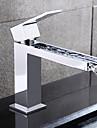 Moderne Set de centre Jet pluie with  Soupape ceramique 1 trou Mitigeur un trou for  Chrome , Robinet lavabo