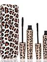 2Pcs Waterproof Mascara with Panther Package Eyes  Makeup Kit