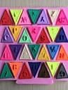 alfabet presura tort fondant în formă de mucegai silicon de ciocolată, instrumente de decor cupcake, l11.2cm * w10.6cm * h0.7cm