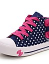Sneakers Tendance ( Bleu/Rose ) - Toile - Bout rond