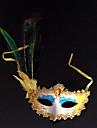 Mască Cosplay Festival/Sărbătoare Costume de Halloween Albastru Imprimeu Mască Halloween / Carnaval / An Nou Unisex PVC