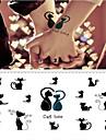 1 pcs Временные тату Временные татуировки Тату с животными Для профессионалов / Высокое качество, отсутствие формальдегида Искусство тела Корпус / рука / запястье / Стикер татуировки