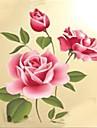 Botanic / Romantic / Natură moartă / Modă Perete Postituri Autocolante perete plane Autocolante de Perete Decorative,PVC Material