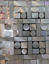 Geometric Contemporan Geam Film, PVC a vinyl Material fereastra de decorare Sufragerie Dormitor Living Bucătărie