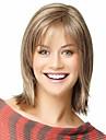 Synteettiset peruukit Suora Tyyli Peruukki Vaaleahiuksisuus Vaalea blondi Synteettiset hiukset 8 inch Naisten Vaaleahiuksisuus Peruukki Lyhyt StrongBeauty Halloween Peruukki