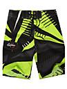 أخضر M L XL طباعة هندسي, ملابس السباحة قطع تحتية شورت سباحة أخضر أزرق رياضي رجالي / الصيف / 1 قطعة / سوبر مثير