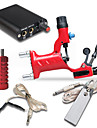 Tattoo Machine Professionell Tattoo Kit 1 x roterande tatueringsmaskin för linjer och skuggning Hög kvalitet Mini strömförsörjning 1 x