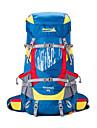 Makino 60 L Ryggsäck Ryggsäckar till dagsturer Backpacker-ryggsäckar Camping Klättring Fritid Sport Resa Vattentät Bärbar 210D Nylon