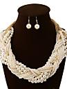 Pentru femei Seturi de bijuterii Coliere Vintage Petrecere Birou Casual Bijuterii Statement de Mireasă European Multistratificat Nuntă