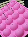 silicon moda lollipop gheață bomboane de ciocolată modelare pentru modelarea tort de decorare instrumente de bakeware gătit (culoare